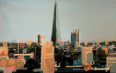 The Shard From Southbank, Study