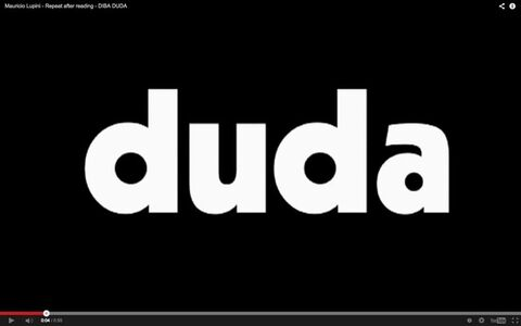 Repeat after reading (DIBA DUDA)