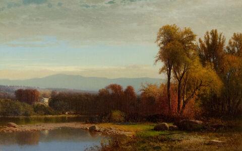 Sunset on Catskill Creek