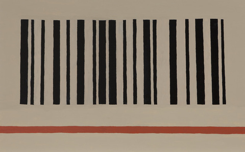 Barcode and Red Stripe