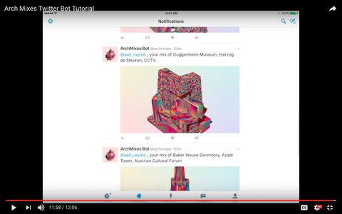 Arch Mixes Twitter Bot Tutorial