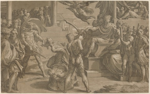 The Martyrdom of Two Saints [recto]