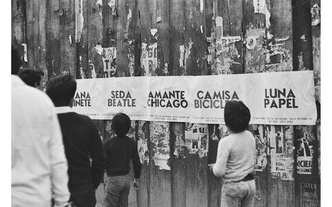 Sin título (Amante/Chicago), from the series Obra impresa urbana, 1979