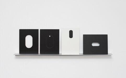 Arquibabas (preta e branca, oval)