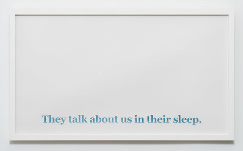 They Talk About Us In Their Sleep