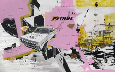 Together we`ll drink in the petrol fumes