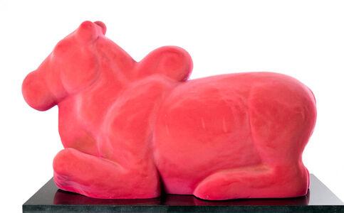 Nandi in pink