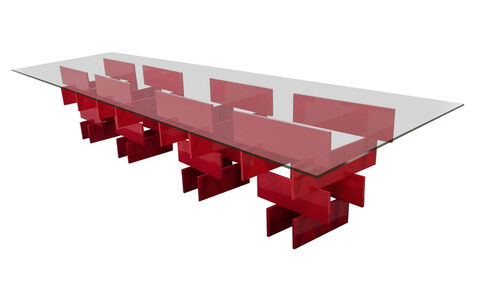 Dining Room Table, Urushi Project