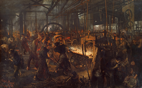 The Iron Rolling Mill (Modern Cyclopes)