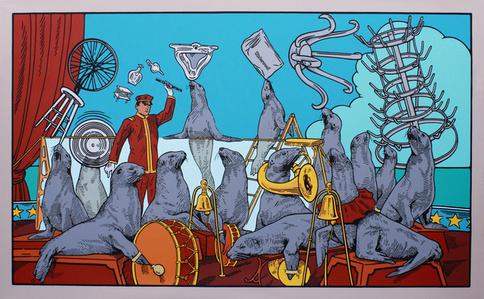 El Circo del Museo de Duchamp del Arte Malo