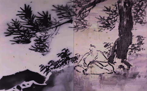 Xu Wei No. 2 of landscape and figure series