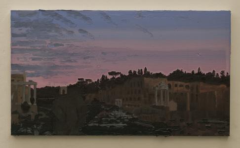 Roman ruins at dusk II