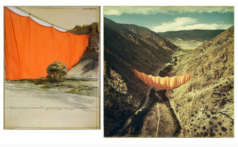 Valley Curtain (Project for Colorado)
