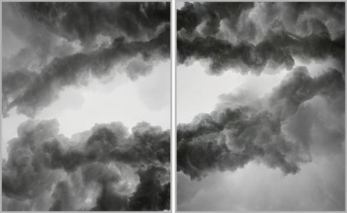Gavin Coal Diptych I, 2003