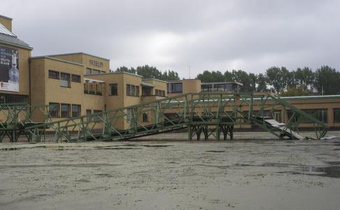 The Collapsed M1 Bailey Bridge