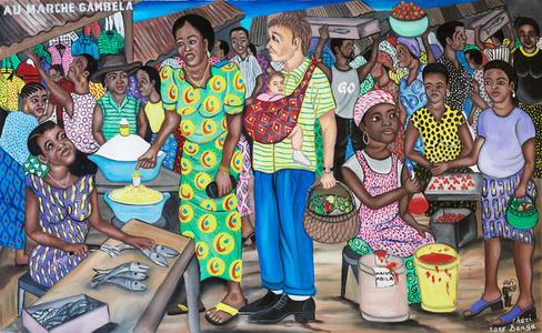 Au marché Gambela