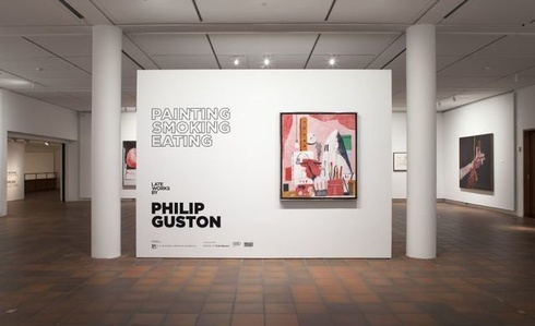 Painting, Smoking, Eating – late works by Philip Guston