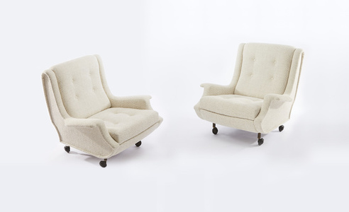 "Pair of ""Regent"" armchairs"