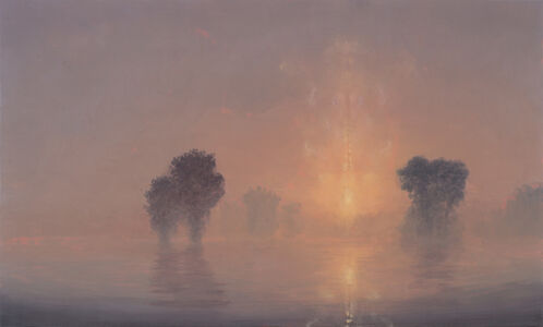 Flooded River / Summer Dawn (Mass MoCA #194)