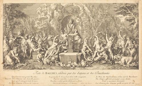 Feste de Bacchus, celebree par des Satyres et des Bacchantes (Feast of Bacchus Celeb rated by Satyrs and Bacchanales)