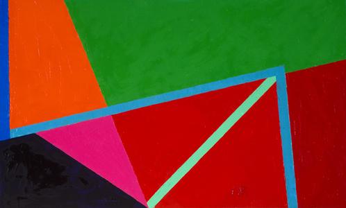 Verdes, rojos, rosa y negro II