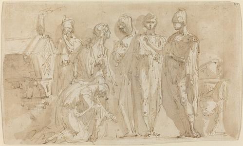 Coriolanus before the Women of Rome