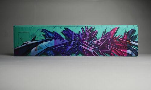 Graffiti Wall Canvas Wrap