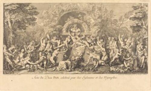 Feste du Dieu Pan, celebree par des Sylvains et des Nymphes (Feast of the God Pan Celebrated by Sylvans and Nymphs)