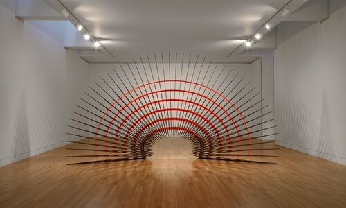 Leo Saul Berk. Structure and Ornament (installation view)