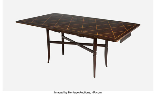 Extending Drop-Leaf Dining Table