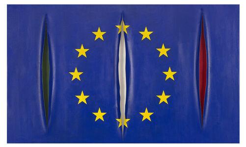 Italian European Disunion Flag