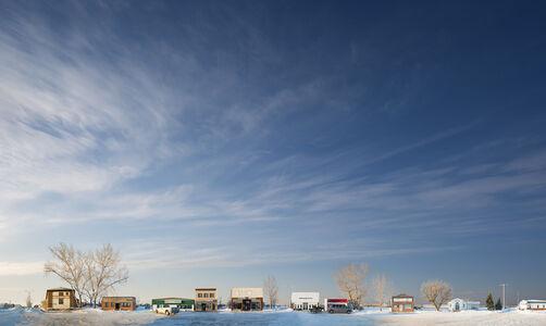 Kerrobert Winter Sky
