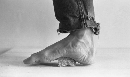 Pain (Foot on Stone)