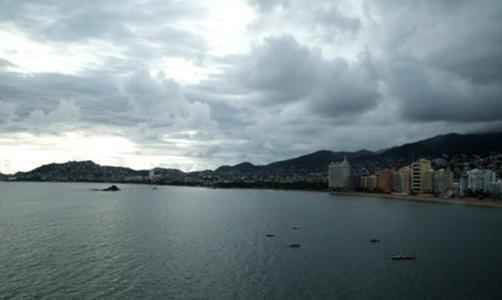 Vista de la bahía Aquatania desde el templo de Balú