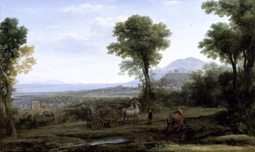 Landscape with St. Philip Baptizing the Eunuch
