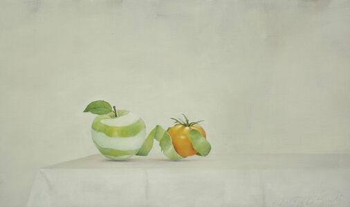 Apple and Yellow Tomato