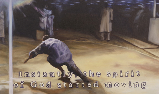 Untitled (Instantly The Spirit Of God Started Moving)