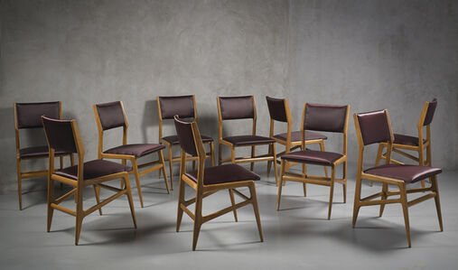 Rare set of ten chairs