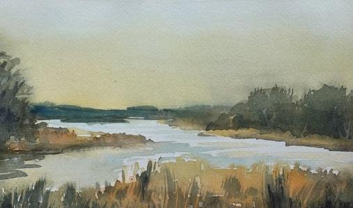 October Twilight, Richmond Creek