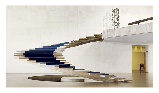 Brasilia | The Itamaraty Palace - Foreign Relations Ministry, spiral stairs