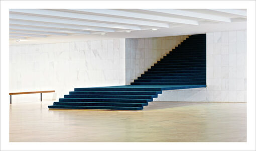 Brasilia | The Itamaraty Palace - Foreign Relations Ministry, stairs