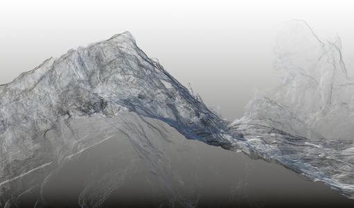 Continuous Topography, Argentière glacier no. 01