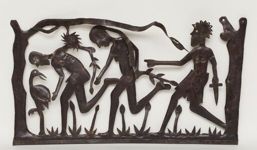 Chased from Eden (Adam and Eve), c. 1990's