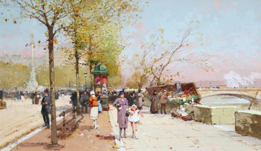 Place Du Chatelet - River Seine