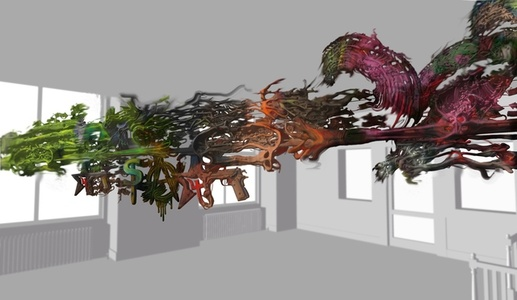 Tridimensional Environmental Painting #1