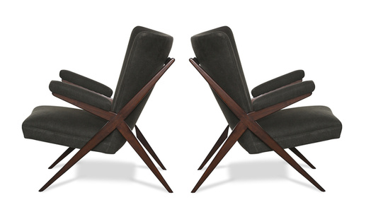 Pair of CA 832 Lounge Chairs