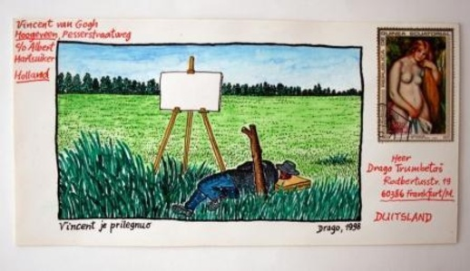 Vincent Lay Down (Dear Vincent / Correspondence with Van Gogh series)