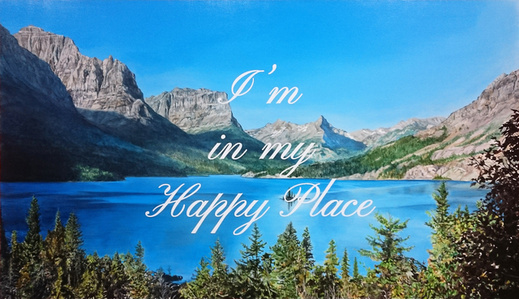 Happy Place  (St. Mary Lake)