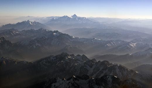 Mountain - The light of God