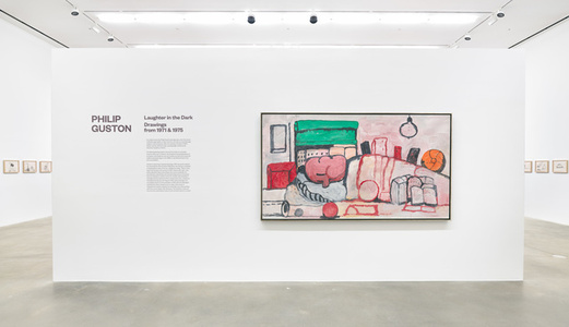 Philip Guston: Laughter in the Dark, Drawings from 1971 & 1975